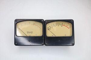 Pair of Triplett Meters Model 420 Type B