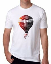 2017 Fashion Astronaut White T-shirts Soft Mens Short Sleeve Casual top Tee