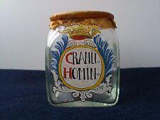 Old Holmegaard  Chemist glass. Cranü Homin..1975-1999. 11.5 cm tall.Limited.