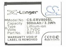 BST-33 SEBA01 Battery for  Sony Ericsson Z800  V800i  V800  V802  V802SE  P990i