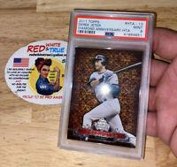 Derek Jeter PSA 9 Topps Insert Card 2011 Major League #HTA-13 New York Yankees!