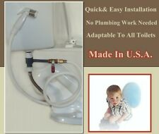 Best Master Bidet Wash With A Spray Hose And Ball Valve - Easy Install - 2 Sets