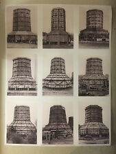 BERND & HILLA BECHER, exhibition poster, Royal Academy, London, 2016