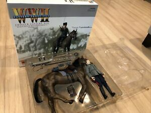 1/6 DRAGON GERMAN KUBAN COSSACK CAVALRY UNIT NCO & HORSE K-98 WW2 WWII WITH BOX
