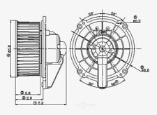 HVAC Blower Motor Global 2311612