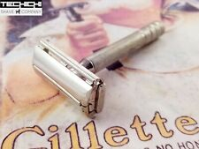 Gillette 40s Style Super Speed Vintage Double Edge Safety Razor - Z3 1954