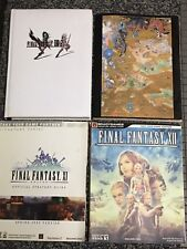 FINAL FANTASY BRADYGAMES OFFICIAL STRATEGY GUIDE LOT