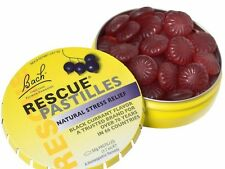BACH RESCUE REMEDY SOOTHING PASTILLES BLACKCURRANT FLAVOUR BEST PRICE