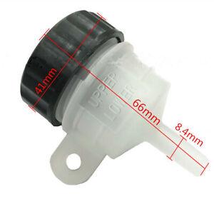 Motorcycle Bike Rear Brake Reservoir Master Cylinder Tank Oil Cup Fluid Bottle