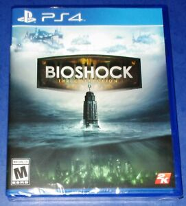 BioShock: The Collection Sony PS4 *Brand New! *Factory Sealed! *Free Shipping!