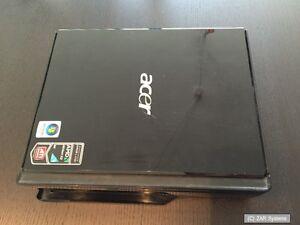ACER Aspire L5100 Ersatzteil: Mini PC Gehäuse Case + Win Vista Home Premium Key