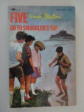 FIVE GO TO SMUGGLER'S TOP Aladdin Book 1972 ENID BLYTON The Famous Five SeriesB4