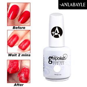 Anlabayle Burst Magic Remover Gel Polish Soak Off UV Nail Gel Top Cleaner 15ml