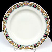 "BUFFALO CHINA RESTAURANT WARE FLORIDIAN PATTERN 9"" DINNER PLATE 1920'S"