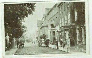 OLD POSTCARD THAMES STREET SUNBURY MIDDLESEX SUNBURY ART CO USED TWICKENHAM 1907