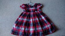 George Party Checked Dresses (0-24 Months) for Girls