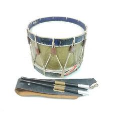 Militär-Trommel, Frankreich, ca.1910-30 _French Side-Drum & Gear (DRM076)