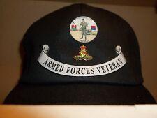 Royal Artillery Veteran cap free postage.