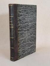 ALBERT DU BOYS - LA GRANDE CHARTREUSE 1845 / LA PHILOSPHIE DU XVIIIe SIECLE 1849