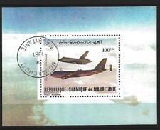 Avions Mauritanie (8) bloc oblitéré