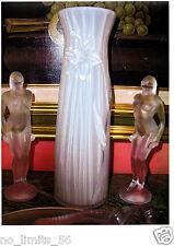 LIMITED EDITION WHITE LIGHT Kristall Vase jonquille ca.1,7 kg 27cmH+BOX*PAPIENEU