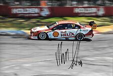 Marcos Ambrose SIGNED 12x8, Penske/DJR Ford Falcon FGX Clipsal 500 Adelaide 2015
