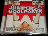 Jumpers 4 Goalposts - 2 CD's Album Football - 28 Footie Anthems 2004 Bonus Disc