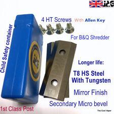 More details for t8 steel b&q mac allister garden shredder blades for fpis2500 mis2500 try2500sa