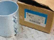 """NEW COOPER CROUSE-HINDS 467 3"""" SET SCREW TYPE COUPLING TUBING FITTING"""