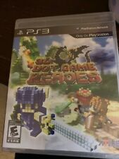 3D Dot Game Heroes (Sony PlayStation 3, 2010) PS3 NEW Factory Sealed