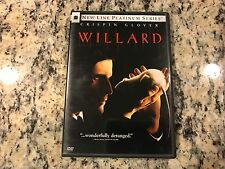 WILLARD LIKE NEW NO SCRATCHES DVD 2003 CRISPIN GLOVER ARMY OF RATS HORROR REMAKE