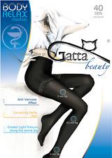 Gatta Anti-Varix Tights Body Relax Medica 40 Den Prevents Varicose Veins Beige