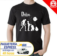 CAMISETA LOS DROIDES  T-SHIRT STAR WARS THE DROIDS ABBEY ROAD BEATLES MAILLOT