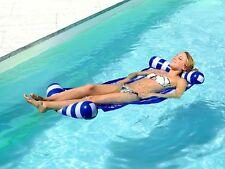Pearl Wasser Hängematte in komplett blau Wasserhängematte Badehängematte NC-8340