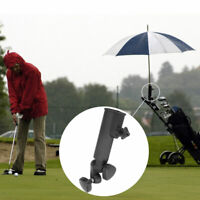 Adjustable Umbrella Holder Stand Pull Clamp Universal for Golf Club Cart Handles