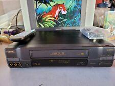 VIDEOREGISTRATORE VHS TOSHIBA V726G 6 TESTINE STEREO Hi-fi PERFETTO IN TUTTO