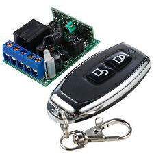 DC12V 1CH Wireless RF Remote Control RF Switch Interlock Learn Encoding;