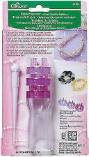 Clover 3100 French Knitter Bead Jewelry Maker with 3 Interchangeable Heads