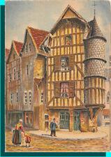 CPSM - TROYES - La Tour de L'Orfévre rue Champeaux