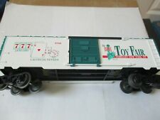 Lionel Stock # 6-19956 1998 Toy Fair Boxcar Car # 9700 O-Scale