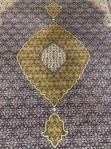 ✔ Tabriz | 309 x 198 | Handgeknüpft | Orientteppich | Carpet | Rug