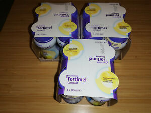 Nutricia Fortimel Compact Trinknahrung verschiedenene Sorten 52 x 125ml + Dose