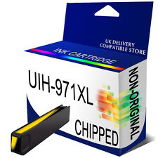1 Yellow Generic Ink 971XL for use in hp Officejet Pro X551dw X576dw Printer