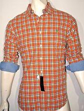 Polo Ralph Lauren plaid double-face shirt size small  custom fit