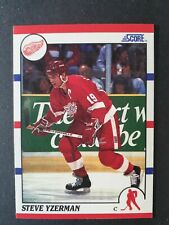 New listing Steve Yzerman 1990 Score Hockey Card #3