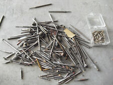Large Lot of Vintage Dentist Accessories Drill Bits All Sorts Look