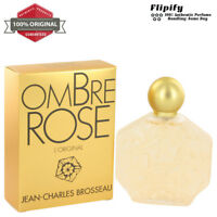 Ombre Rose Cologne 2.5 1.7 3.4 6 0.5 oz EDT EDP Spray Pure Perfume by Brosseau