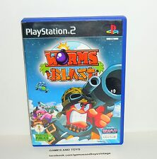 JEU PS2 COMPLET WORMS BLAST