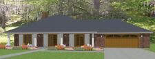 Affordable House Home Blueprints Plans 3 bedroom 1862 sf PDF