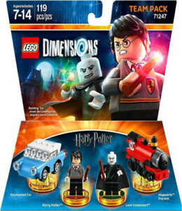 LEGO DIMENSIONS #71247 HARRY POTTER TEAM PACK 4 MINIFIGURES RETIRED NEW LA024